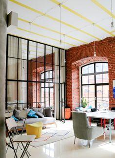 На этой неделе в «Штаб-квартирах» — московский офис сервиса Grabr.io, с помощью…