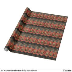 St. Martin- In-The-Fields Wrapping Paper #St.Martin #Church #Religion #England #Britain #Historical #Travel #Gift #Present #WrappingPaper #GiftWrap