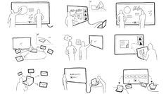 Using thick and thin lines to create hierarchy Sketch Notes, Hand Sketch, Comic Layout, Journey Mapping, Creative Company, Digital Painting Tutorials, User Experience Design, Information Design, Design Research
