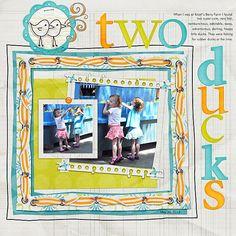 two ducks: kit My Best Friend