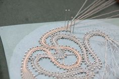 Lace-making
