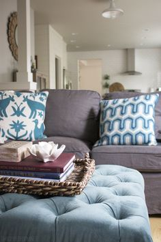 Cozy Imperfections -The Inspired Room Family Room #decorating #design