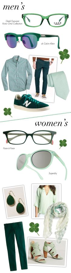 Style Your Eyes Green for St. Patty's Day: http://eyecessorizeblog.com/?p=5609