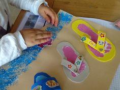 Vive l'été !! Bonnes vacances.... Summer Arts And Crafts, Crafts For Kids, Art Activities, Summer Activities, Diy Paper, Paper Crafts, Summer Breeze, Gifts For Coworkers, Crafty