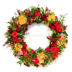 Dahlia, Floral Wreath, Wreaths, Decor, Decoration, Door Wreaths, Dahlia Flower, Dekoration, Deco Mesh Wreaths