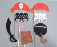 PIRATE Photo Booth Props Pirate Party Weddings Birthday Parties Halloween Pirate Birthday Party Dress Up Party Pirate Photo Props on Etsy, Pirate Day, Pirate Birthday, 3rd Birthday, Birthday Parties, Pirate Photo Booth, Photo Booth Props, Photo Booths, Birthday Event Ideas, Girls Pirate Parties