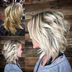 60 Best Variations of a Medium Shag Haircut for Your Distinctive Style - Her Crochet Medium Shag Haircuts, Choppy Bob Hairstyles Messy Lob, Short Haircuts, Layered Hairstyle, Guy Haircuts, Modern Haircuts, Medium Hair Styles, Curly Hair Styles, Messy Short Hair