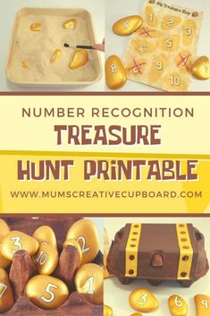 This is a treasure hunt toddlers will love and can actually take part in. This pirate treasure hunt for kids free printable included is easy to make and is the perfect preschool recycled crafts kids will love. We love learn through play activities and this is one of our favourite number recognition activities - and a great egg carton crafts treasure hunt style. This is also a great activity to combine with sensory bins #treasurehunt #recycledcrafts #numberrecognition Pirate Preschool, Pirate Activities, Preschool Crafts, Activities For Kids, Preschool Ideas, Recycled Crafts Kids, Crafts For Kids, Pirate Treasure Hunt For Kids, Beach Themed Crafts