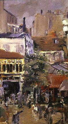 Edouard MANET / Vue prise de la Place Clichy, 1878