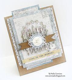 Live In The Moment card *MAJA DESIGN* - Scrapbook.com