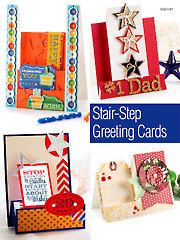 Card Paper Crafts - Stair-Step Greeting Cards - #AG01197