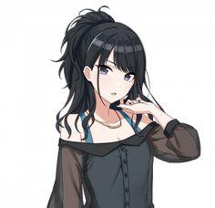 Fille Anime Cool, Art Anime Fille, Cool Anime Girl, Pretty Anime Girl, Beautiful Anime Girl, Anime Neko, Manga Kawaii, Kawaii Anime Girl, Anime Girls