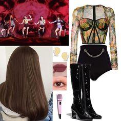 Kpop Fashion Outfits, Girls Fashion Clothes, Stage Outfits, Grunge Outfits, Clothes For Women, Teenager Outfits, Girl Outfits, Cute Outfits, Bts Inspired Outfits