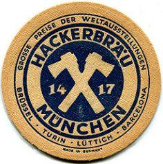 Munich - Hackerbräu (roger4336) Tags: beer germany munich münchen bayern deutschland bavaria beermat bier coaster bierdeckel hackerbrau hackerbräu