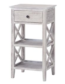 The Coast side table features a modern white wash finish. Side Table, Table, Furniture Shop, Dining Furniture, Furniture, Table Furniture, Room, Coffee Table, Living Room Furniture