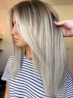 Instagram @hotteshair Balayage Blonde