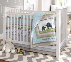 Brooks Nursery Bedding Set | Pottery Barn Kids
