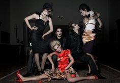 Broken dolls by Tanja Zrinski - Fashion Photography - Dolls - Marionettes - Puppets - Halloween concept ideas