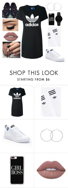 """2017 Fresh"" by cicimitch ❤ liked on Polyvore featuring adidas Originals, adidas, Casetify, Lime Crime and CLUSE"