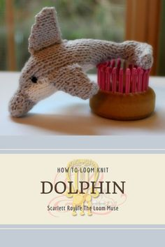 Round Loom Knitting, Loom Scarf, Loom Knitting Stitches, Loom Knitting Projects, Knitting Ideas, Knitted Stuffed Animals, Knitted Animals, Loom Crochet, Crotchet
