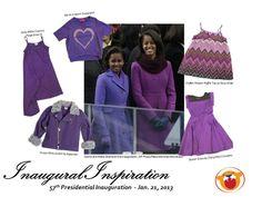 Sasha and Malia Obama at the 57th Presidential Inauguration! We were inspired --- www.torlykid.com/shop