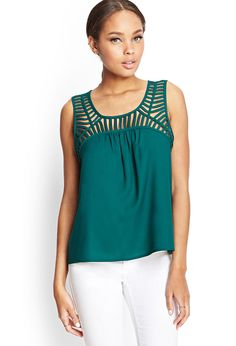Top Ajouré Style Cage - Forever 21 EU