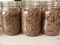 Overcoming Disasters: Canning Ground Beef