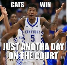 Wildcats came to town and took that dubya!! Next game will be tougher!