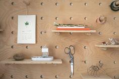 Remodelista DIY peg board