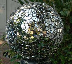 Mirror Mosaic Garden Sphere