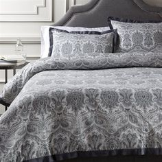 Surya GRF100 Griffin 300-Thread Count Duvet Cover Set | Lowe's Canada