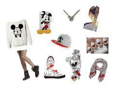 """Mickey Mouse"" by skylarhix ❤ liked on Polyvore featuring dELiA*s, Disney, Wet Seal, Faliero Sarti and Vans"