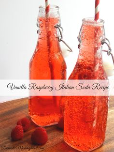 Vanilla Raspberry Italian Soda Recipe
