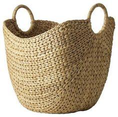 baskets   Large Curved Basket - traditional - baskets - by West Elm