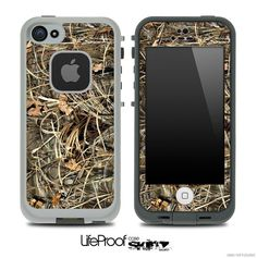 Camouflage V8  Skin for the iPhone 4/4s or 5 LifeProof Case