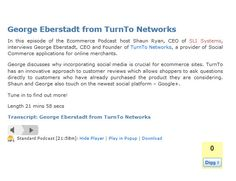 George Eberstadt from TurnTo Networks - August 2011 @SLISystems