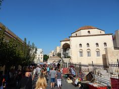 Athens Greece Monastiraki Square