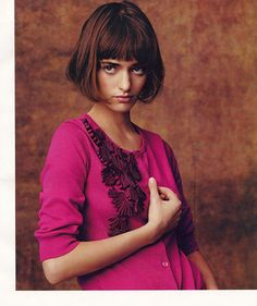 """Anthropologie: When You Long To Be A French Gamine.""  This is how I envision my daughter, we'll see what reality has in store."