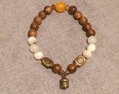 Buddha Bead Stack Bracelet