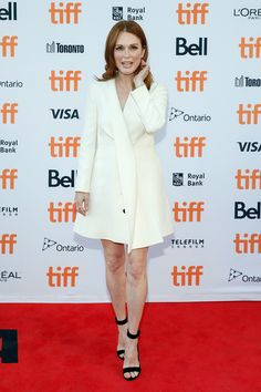 Julianne Moore attends the premiere of 'Suburbicon' during the 2017 Toronto International Film Festival at Princess of Wales Theatre on September 9, 2017 in Toronto, Canada.