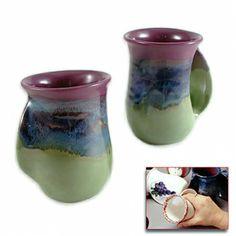 Right-Handed Mossy Creek Handwarmer Mug: Clay In Motion