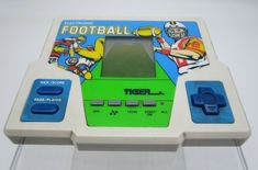 Vintage Tiger Electronic Football LCD Handheld Video Game 1987 - Tested & Works #Tiger Game Duck, Handheld Video Games, Retro Video Games, Video Game Console, Nintendo Consoles, Football, Ebay, Vintage, Soccer