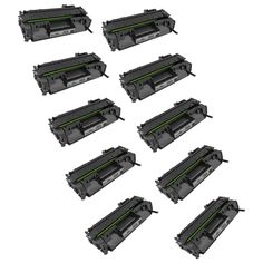 Speedy Inks - 10pk Compatible Replacement for HP 05A CE505A Black Laser Toner Cartridge for LaserJet P2035, P2035n, P2055dn, P2055X, P2055d