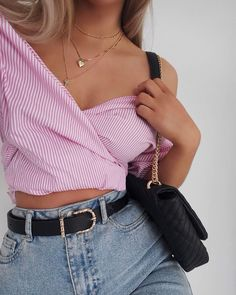 "1,474 Likes, 27 Comments - Lydia Rose (@fashioninflux) on Instagram: ""Baby pink outfit details in @missyempire  my Spring wardrobe is making me happyyy!"""