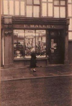 Shop in wallgate wigan..old times