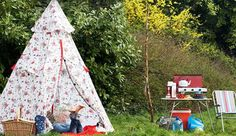 Cath Kidston! Glamping accessories