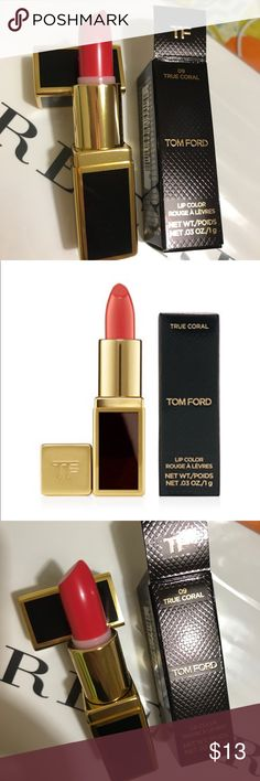 Tim ford lipstick coral new mini Tim ford lipstick coral new mini Tom Ford Makeup Lipstick