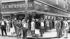 My Mother always went to G.C. Murphy's every saturday shopping...great memories..J.C.