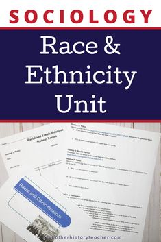 Engage your students with this race and ethnicity unit for Sociology! Students will think critically about how race and ethnicity affect people and why it matters. A variety of media is included to capture their attention, as well as a review game before they take the assessment! Teach this important sociology concept with this unit to make your life easier.