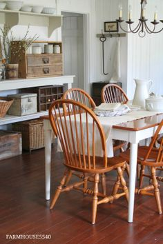 Dining Room Pictures - FARMHOUSE 5540